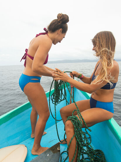 Naiad Bikini Bottom - Solid: Image 5