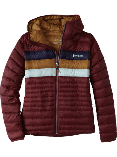 La Exploradora Hooded Down Jacket: Image 1