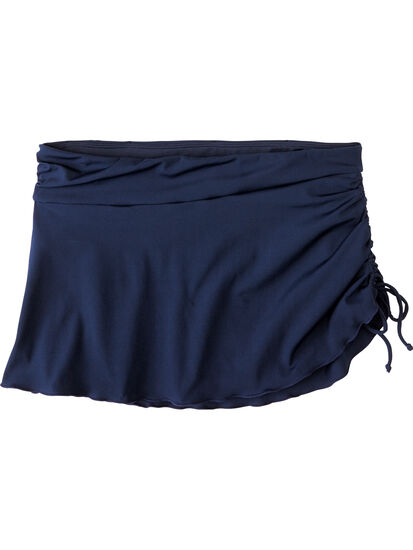 Hoku Swim Skirt - Solid: Image 1