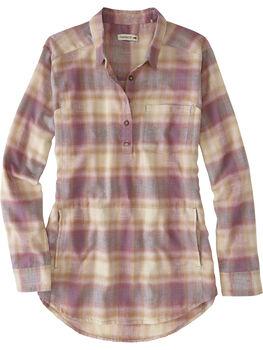 Plaiditude Droptail Flannel Shirt