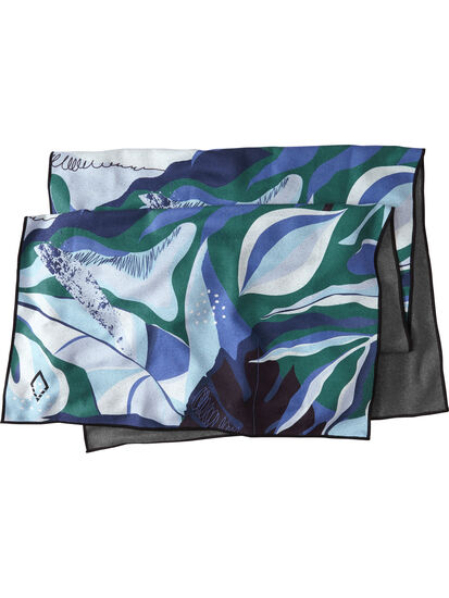 Universal Towel - Monstera Blue: Image 2
