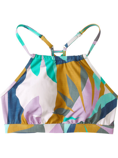 Namaka High Neck Bikini Top - Savanna: Image 1