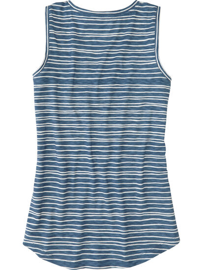 Henerala V-Neck Tank Top - Stripe: Image 2