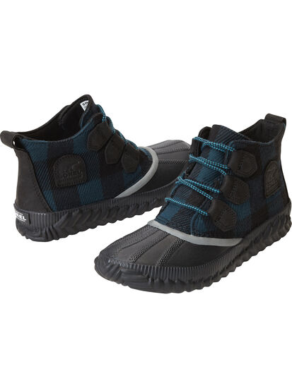 Urban Duck Boot - Teal Plaid: Image 1