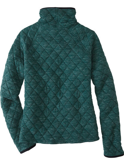 Power Up Quilted Turtleneck Pullover: Image 2