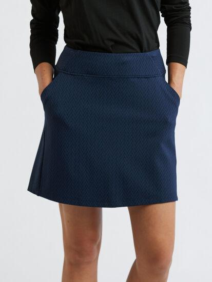 Passport Skirt - Herringbone