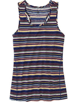 Henerala Racerback Tank - Fall Stripes