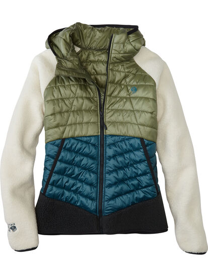 Yeti Hybrid Fleece Jacket: Image 1