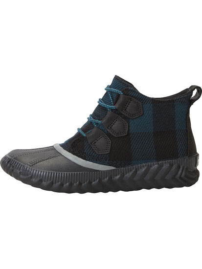 Urban Duck Boot - Teal Plaid: Image 3