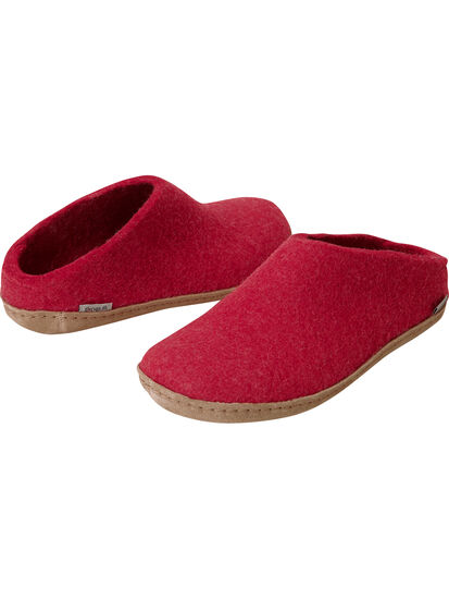 Gotland Felted Wool Slippers: Image 1