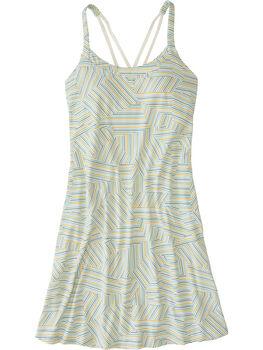 Yes Dress - Shattered Stripe