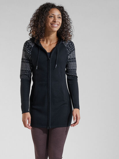 Woolicious Full Zip Sweater Tunic: Image 3
