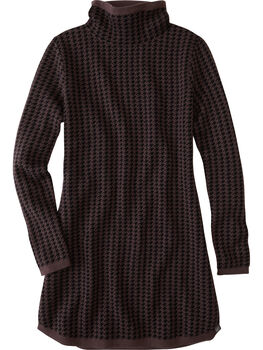Barra Tunic Sweater - Houndstooth