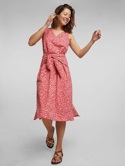 Round Trip Midi Dress - Indio: Image 3