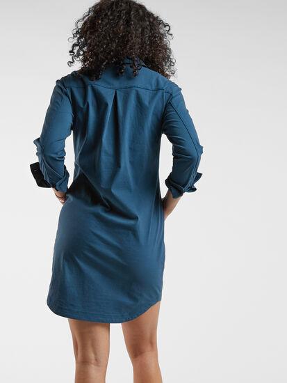 Wren Utility Shirt Dress: Image 6