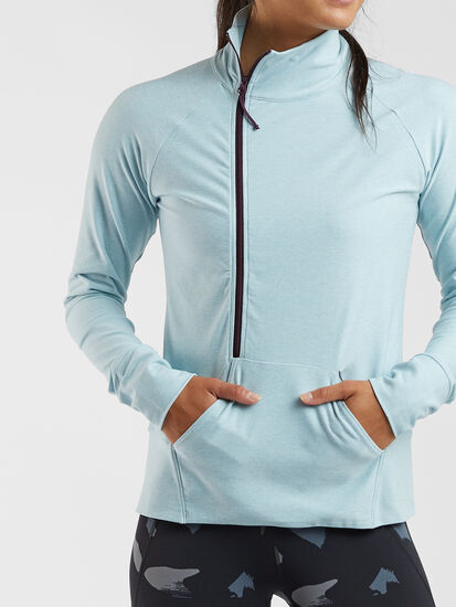 Magic Mile 1/2 Zip Long Sleeve Top: Image 3