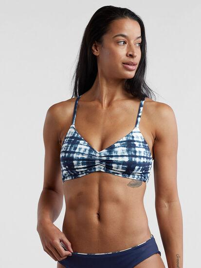 Capitola Underwire Bikini Top - Navy Tie Dye: Image 2