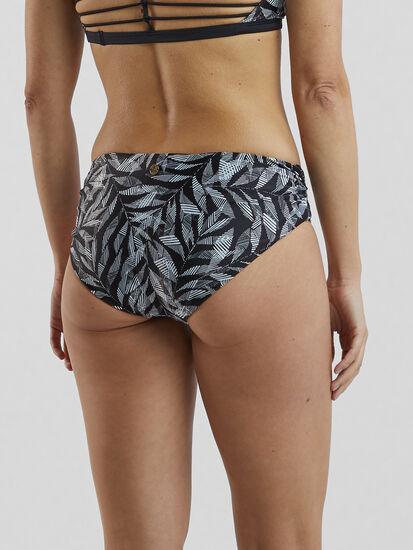 Dig It Bikini Bottoms - Black Springtime: Image 2