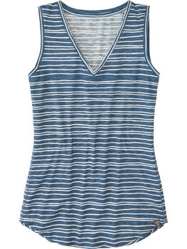 Henerala V-Neck Tank Top - Stripe