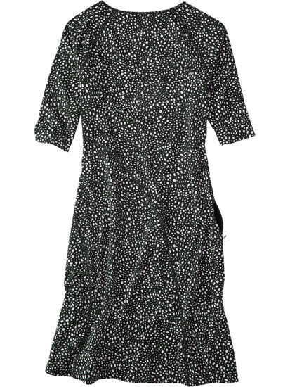 Sayonara Cafe Sleeve Dress - All Over Dot: Image 2