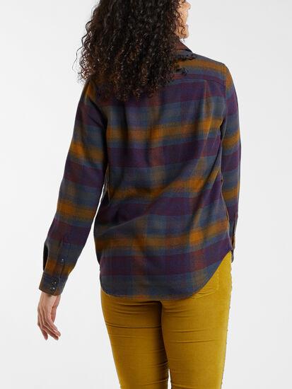 Recycled Lumberjill Shirt Jacket: Image 4