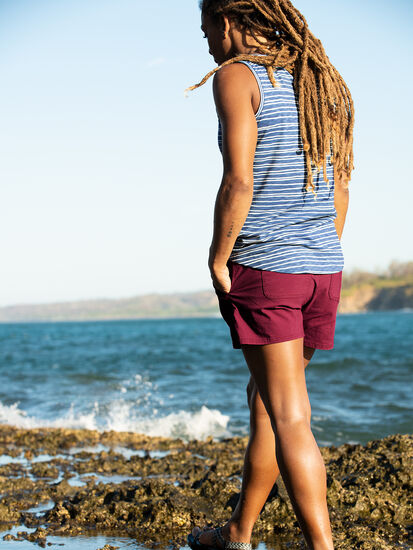 Henerala V-Neck Tank Top - Stripe: Image 3