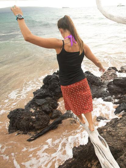 Samba Skirt: Model Image