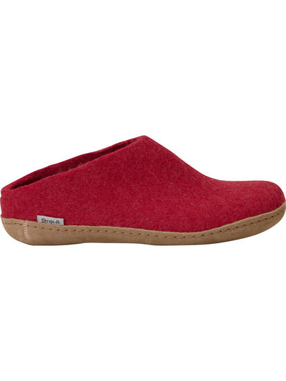 Gotland Felted Wool Slippers: Image 2