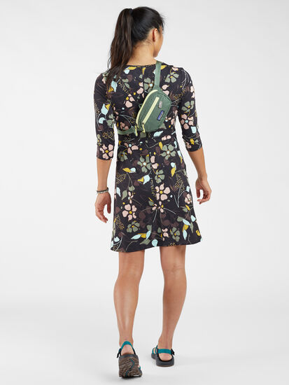 Dream 3/4 Sleeve Dress - Wild Juniper: Image 4