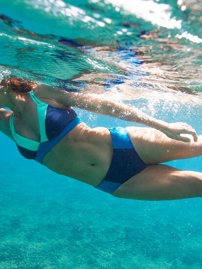 Kuapapa High Waisted Bikini Bottom: Image 4
