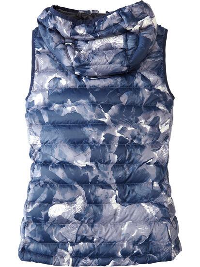 Microwave Puffer Vest - Print: Image 2