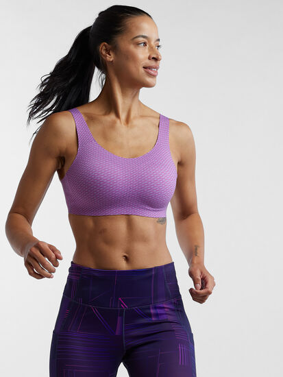 Run It All Adjustable Sports Bra: Image 3