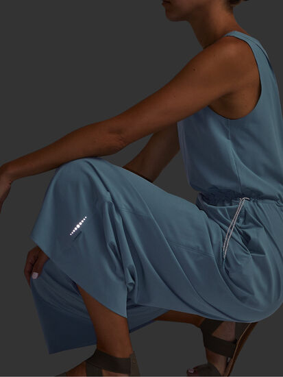 Round Trip Sleeveless Jumpsuit: Image 7