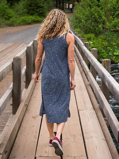 Round Trip Midi Dress - River Stone