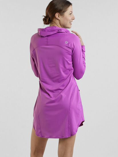 Blocker Hoodie Dress: Image 4