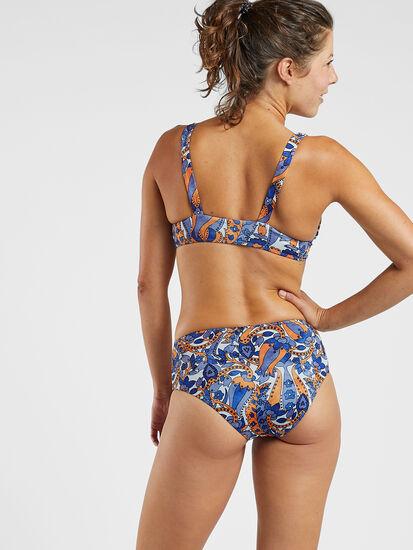 Gidget High Waisted Bikini Bottoms - Sari: Image 3