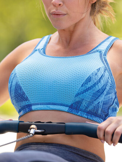 Squad Adjustable Sports Bra: Image 4