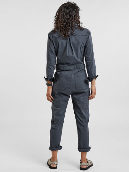 Rosie Utility Long Sleeve Jumpsuit: Image 2