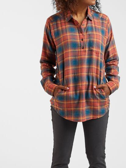 Plaiditude Droptail Long Sleeve Shirt: Image 3