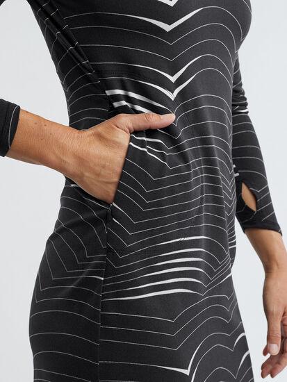 Getaway Long Sleeve Turtleneck Dress - Double Dutch: Image 5