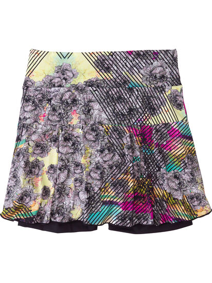 Terraferma Skort - Graffiti Bloom: Image 2