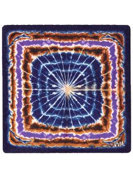 Portable Art Patch - Ring Dance Blue