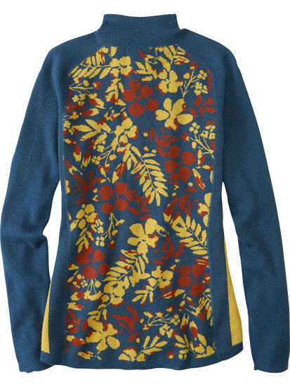Super Power 1/4 Zip Sweater - Blumen: Image 2
