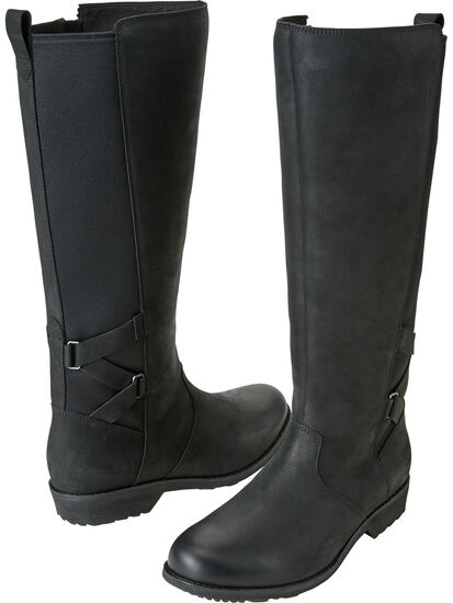 Serious Waterproof Boot Tall - Black: Image 1