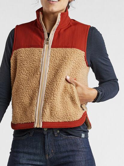 Mount Diablo Fleece Vest: Image 3