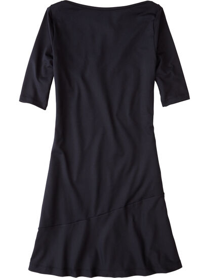 Buttah Boatneck Dress - Solid: Image 2