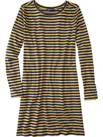 Road Tripper Long Sleeve Dress - Stripe: Image 1