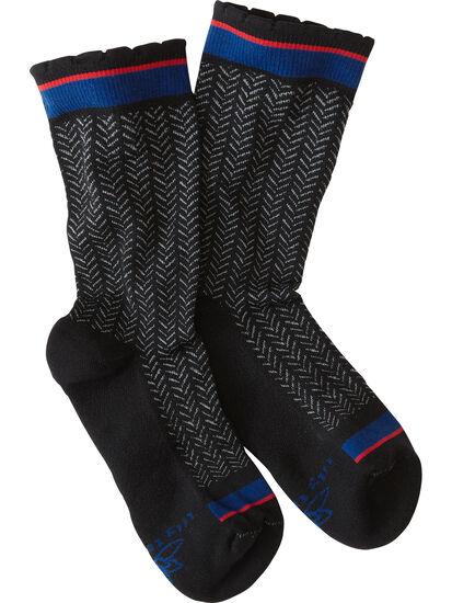 Trotters Compression Crew Socks - Bon Bon: Image 1