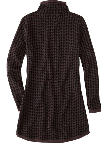 Barra Tunic Sweater - Houndstooth: Image 2