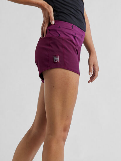 """Obsession Running Shorts 4"""" - Solid: Image 3"""